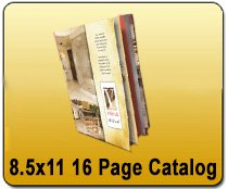 Wholesale 8.5x11 16 Page Catalog Printing