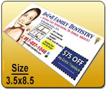 Wholesale Rackcards - wholesale 3.5x8.5 Rackcard