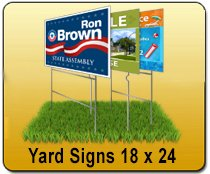 Wholesale Yard Signs Printing Service - 18x24 Yard Sign