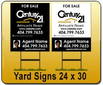 Wholesale 24x30 Yard Signs Printing Service for resellers