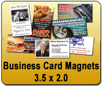 Business Card Magnets 3.5x2 - YARD SIGNS & Magnetic Cards | Cheapest EDDM Printing