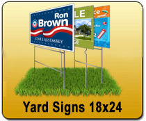 Yard Signs 18x24 - YARD SIGNS & Magnetic Cards | Cheapest EDDM Printing
